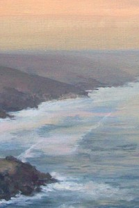 Dusk on the North Cornish Coast - Copy