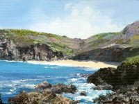 """Portheras Cove"" Nr Pendeen Lighthouse, Cornwall"