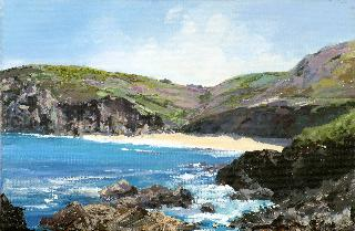 """""""Portheras Cove"""" Nr Pendeen Lighthouse, Cornwall"""