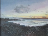 Acrylic Paint, Painting Sunsets, Gwithian,Poldark, Cornwall, Painting with a limited Pallet