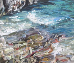 Cornwall Painting Lessons - Tips & Advice on Acrylics
